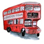 London Tour mit dem roten Doppeldeckerbus