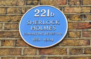 221B Baker Street - Sherlock Holmes